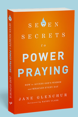 7 Secrets to Power Praying by Jane Glenchur book cover