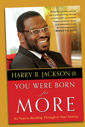 You Were Born for More by Harry R. Jackson Jr. cover
