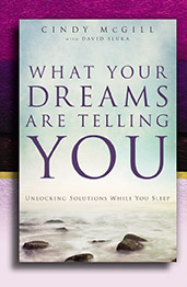 What Your Dreams Are Telling You by Cindy McGill with David Sluka book cover