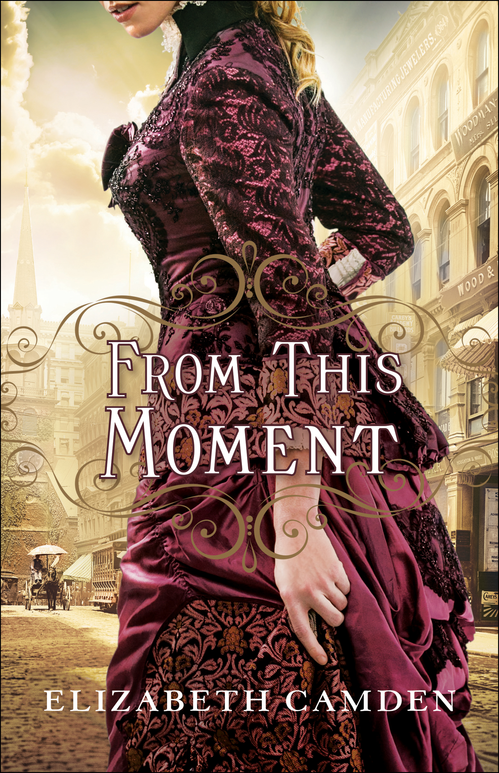 Book review of From This Moment by Elizabeth Camden (Bethany House) by papertapepins