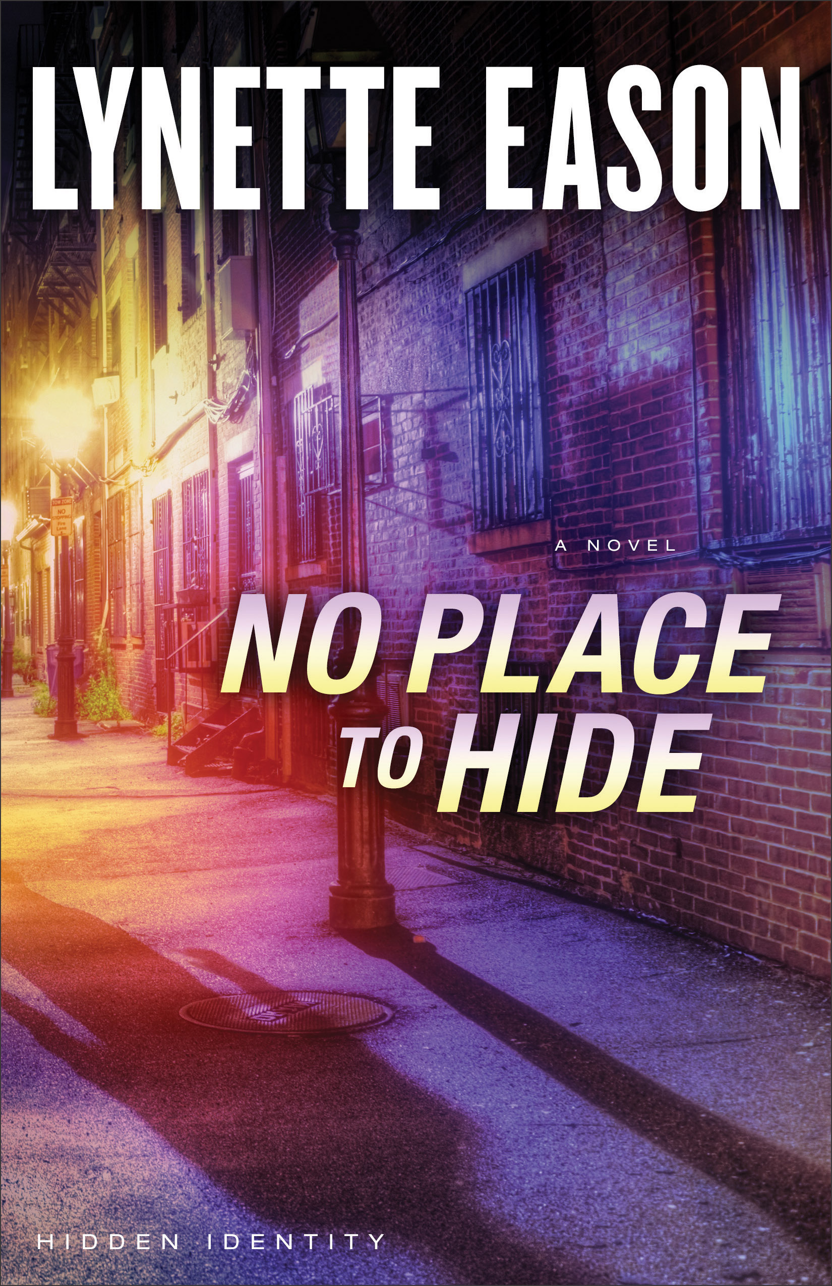 book review of No Place To Hide by Lynette Eason (Revell) by papertapepins