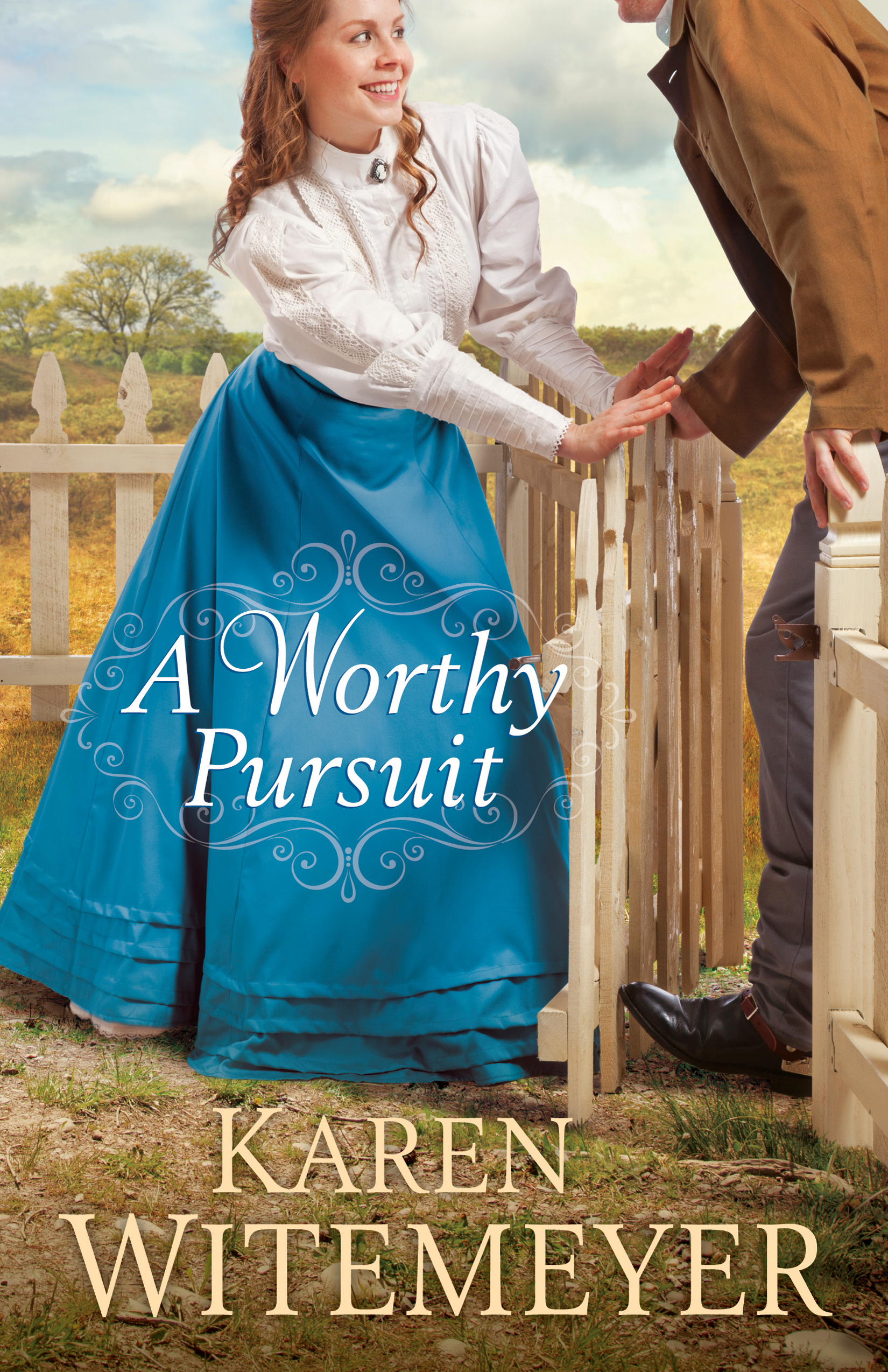 Book review of A Worthy Pursuit by Karen Witemeyer (Bethany House) by papertapepins
