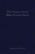 The KJV Names of God Bible Promise Book, Blue Imitation Leather