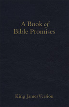 KJV Book of Bible Promises, Midnight Blue Imitation Leather
